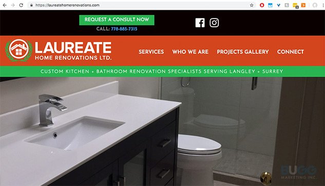 Vancouver Langley website design and development